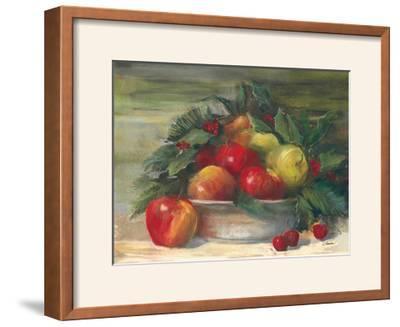 Apples and Holly by Carol Rowan