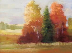 Autumn Leaves Crop by Carol Rowan