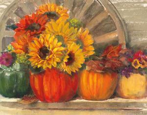 Autumn Still LIfe by Carol Rowan