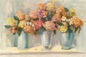 Fall Hydrangea Bouquets by Carol Rowan