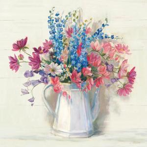 Ironstone Bouquet I Bright by Carol Rowan