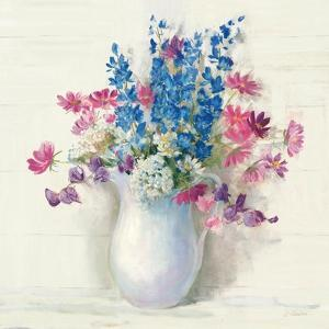 Ironstone Bouquet II Bright by Carol Rowan