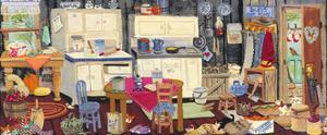 Goat Lady's Kitchen by Carol Salas