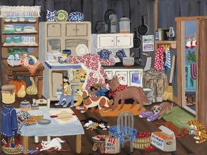 Grandma's Kitchen by Carol Salas