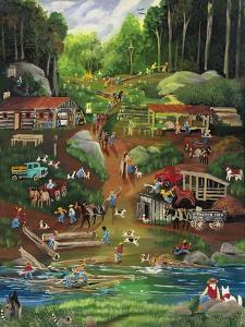 Possom Trot Logging Camp by Carol Salas