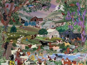"With Francis #2 ""Creekside Farm"" by Carol Salas"