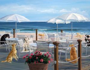 Beach Club Tails by Carol Saxe