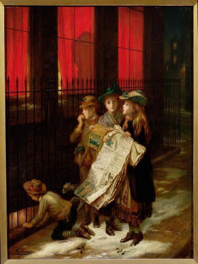 Carol Singers, 1889-Augustus Edward Mulready-Giclee Print