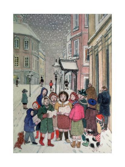 Carol Singers-Gillian Lawson-Giclee Print