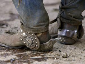 Cowboy's Spurs. Sombrero Ranch, Craig, Colorado by Carol Walker