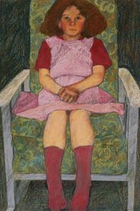 Girl in a Rocking Chair by Carol Walklin