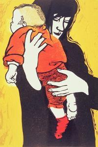 Red Sock, 1991 by Carol Walklin