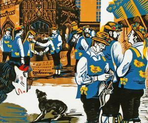 The Morris Men at Chichester by Carol Walklin