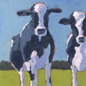 Cow Pals I by Carol Young