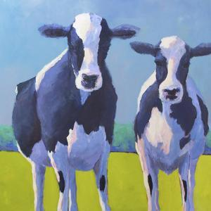 Cow Pals II by Carol Young