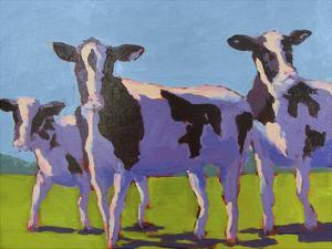 Cow Pals IV by Carol Young