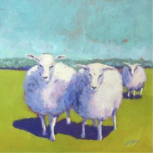 Sheep Pals I by Carol Young