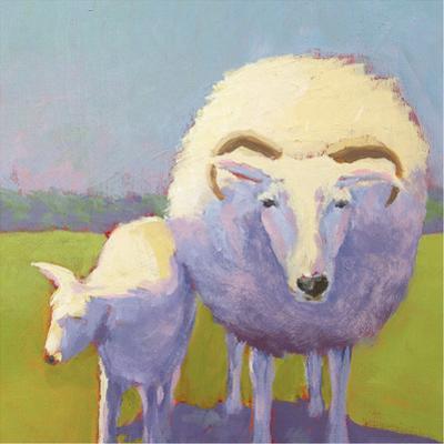 Sheep Pals II by Carol Young