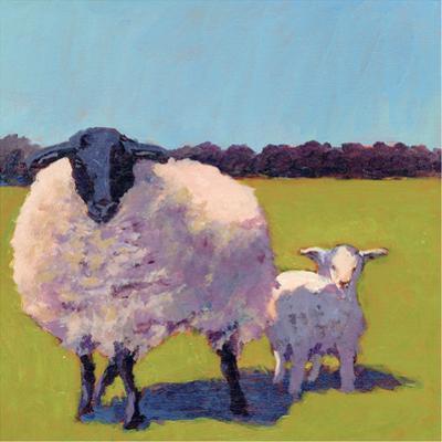 Sheep Pals III by Carol Young
