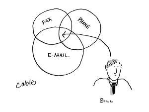 Bill - Cartoon by Carole Cable