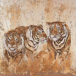 Les Tigres I by Carole Ivoy