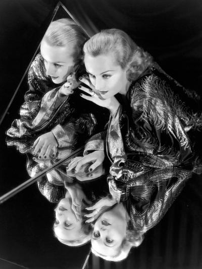 Carole Lombard, 1935--Photographic Print