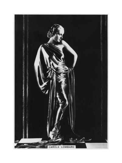 Carole Lombard, American Film Actress, C1938--Giclee Print