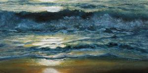 Shoreline Study 04215 by Carole Malcolm