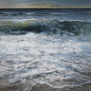 Shoreline study 2 by Carole Malcolm