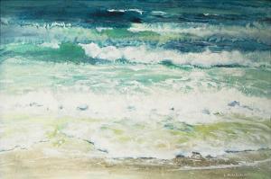 Shoreline Study 815 by Carole Malcolm