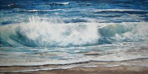 Shoreline study 9 by Carole Malcolm