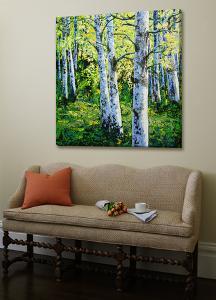 Treescape 11 by Carole Malcolm