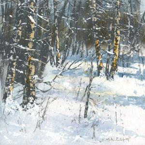 Treescape 3 by Carole Malcolm