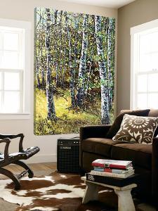 Treescape 6 by Carole Malcolm