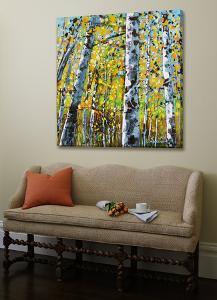 Treescape 8 by Carole Malcolm