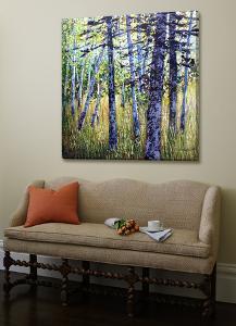 Treescape 9 by Carole Malcolm