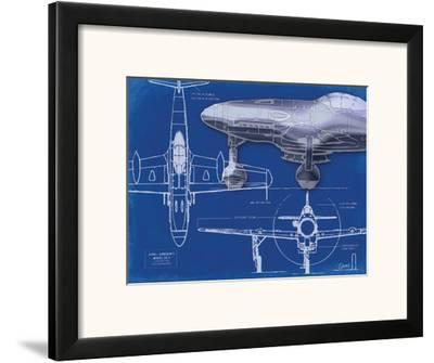 Airplane Blueprint 2