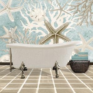 Coral Bath 1A by Carole Stevens
