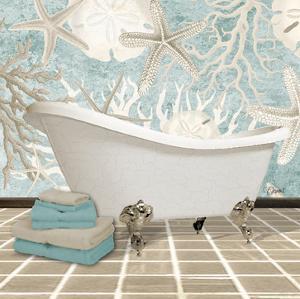 Coral Bath 2A by Carole Stevens