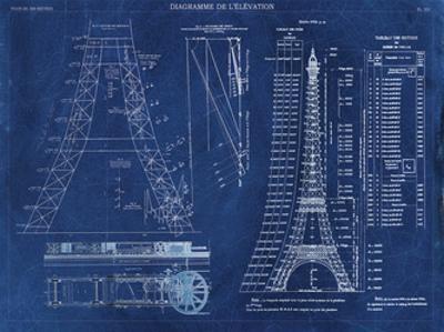 Eiffel Tower Rendering 1