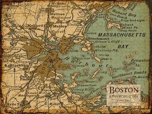 Environs Boston Sepia by Carole Stevens