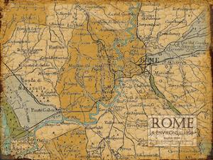 Environs Rome Sepia by Carole Stevens