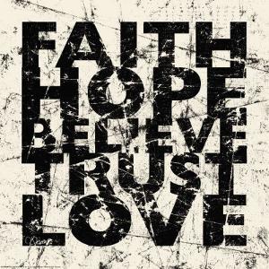Marble Faith Hope by Carole Stevens