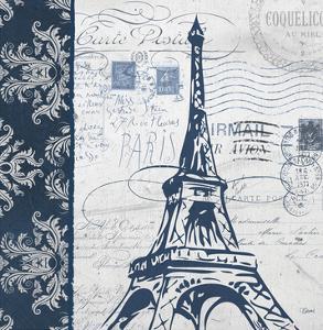 Navy Eiffel by Carole Stevens