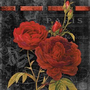 Vintage Floral 1 by Carole Stevens