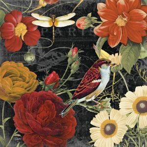 Vintage Floral 3 by Carole Stevens