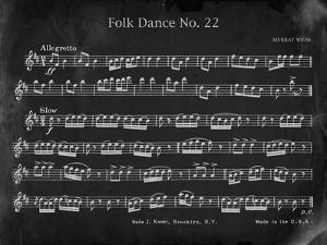 Vintage Folk Dance by Carole Stevens