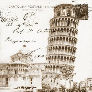 Vintage Pisa by Carole Stevens