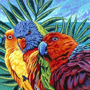 Birds in Paradise I by Carolee Vitaletti