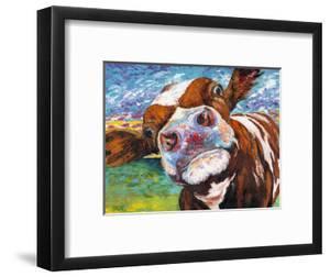 Curious Cow I by Carolee Vitaletti